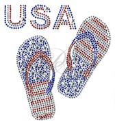 Ovr95 - USA w/ Patriotic Flip Flops