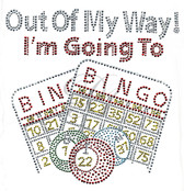 Ovrs7455 - Out Of My Way I'm Going To Bingo w/ Cards