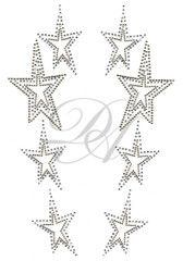 Ovrs2298 - Symmetrical Star Decor