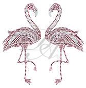 Ovrs7512 - Pair of Flamingos