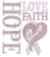 Ovrs7522 - Hope Love Faith Cancer Awareness