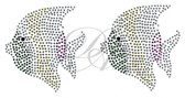 Ovrs129 - Multi-Color Ray-Finned Fish