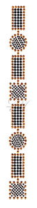 Ovrs1013 - Multi-Shape Pattern Band