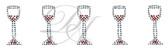 Ovrs543s - Wine Glass Band