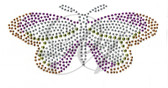 Ovrs137s - Small Wide Winged Butterfly