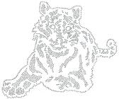Ovry027 - Tiger Outline