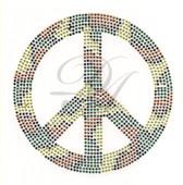 Ovrs4816 - Camo Peace Sign