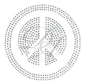 Ovrs2370 - Filled Peace Sign