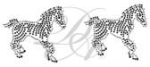 Ovr14 - Zebra Facing Left & Right