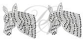 Ovrs123s - Small Zebra Head