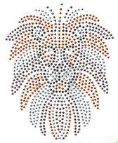 Ovrs124L - Large Lion Head