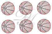 Ovrs5257 - 6 Basketballs Per Set - ON SALE!