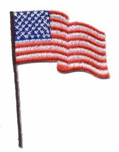 Ov10376s- Small USA Waving Flag