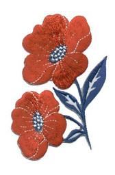 Ov10417 - Americana Pair of Summer Flowers