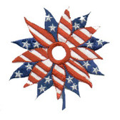 Ov10415 - Stars & Stripes Americana Flower
