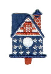 Ov10413 - All American Birdhouse