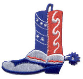 Ov10445 - Patriotic Cowboy Boot