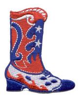 Ov10443 - Americana Swirl Western Boot w/ Stars