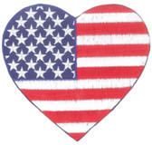 Ov10375 - USA Flag Heart