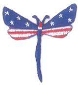 Ov10433 - Patriotic Dragonfly