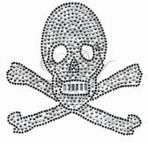 Ovrs240B - Skull w/ Crossbones