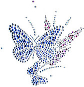 Ovrs425A - Butterfly with small butterfly