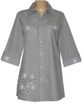 Style # 2005 - Black w/ Design # Ovrs1502 (Bottom Left) & Ovrs1503 (Pockets & Cuffs)