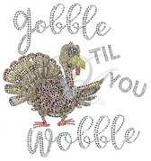 Ovrs7574 - Gobble Til You Wobble with Turkey