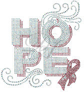 Ovrs7779 - Hope Swirl with Pink Ribbon