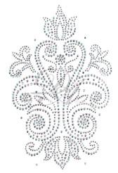 Ovrs7102 - Swirly Abstract Panel