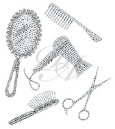 Ovrs4436 - Beauty Parlor Set