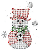 Ovrs5283 - Big Red Snowman