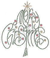 Ovrs5285 - Merry Christmas Tree - ON SALE!