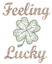 Ovrs4906 - Feeling Lucky with Shamrock