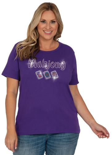 Style # 1003 - Purple w/ Design # Ovrs7631