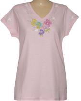 Style # 1104 - Pink w/Design # Ovrs7125