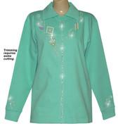 Style # 1601 - Mint w/ Design # Ovrs1489