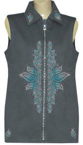 Style # 1604 - Gray w/Design # Ovrs6155