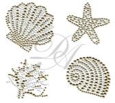 Ovrs9801 - Seashells, Starfish and Coral