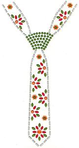 Ovrc1254 - Tie Neckline - ON SALE!