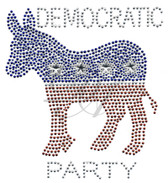 Ovr86 - Democratic Party Donkey - ON SALE!