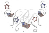 Ovr70 - Stars and Flags Round Neckline