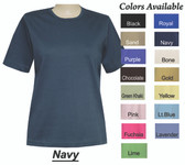 Style # 6003 - Crew Neck Short Sleeve Top  ON SALE NOW!