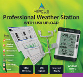 Aercus Instruments™ WS2083 - Professional Wireless Weather Station with PC Interface