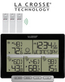 La Crosse Weather Station with 3 Remote Sensors 308-1412