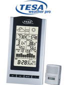 TESA  WS1151 Moon Phase Desktop Weather Station
