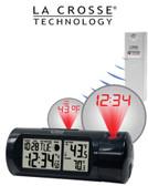 616-143 Projection Alarm Clock Outdoor Temperature