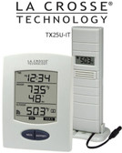 La Crosse WS9029U-IT Weather Station with temperature probe