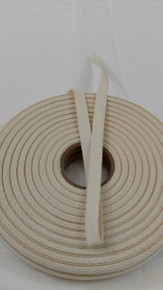 "Heavyweight 3/8"" natural twill tape, 72 yard roll"