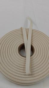 """Heavyweight 3/8"""" natural twill tape, 72 yard roll"""